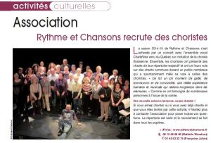article Thiais magazine sept2015